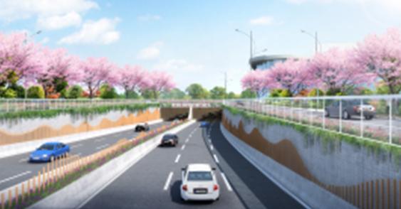上海世博文化公园市政道路配套工程