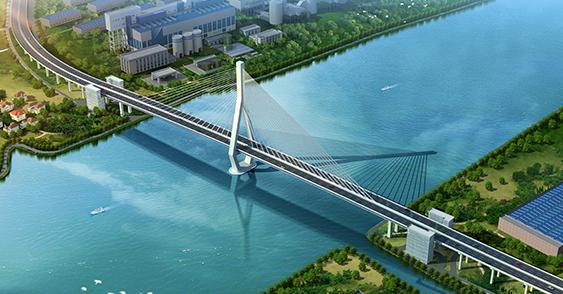 上海昆阳路越江及配套道路工程