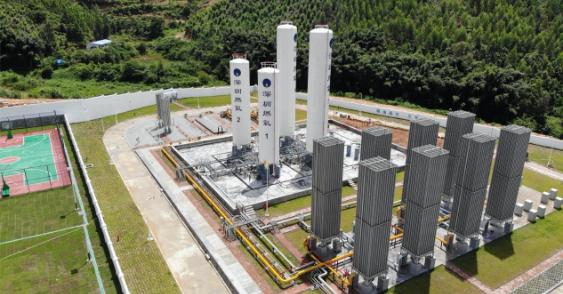 深圳鹅埠天然气场站