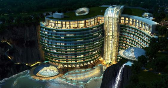 上海佘山世茂洲际酒店供应系统设计