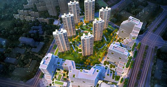 Jiangxi Nanchang Red Valley Ruishi Inner City Square