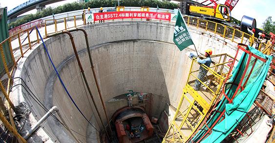 上海市污水治理白龙港片区南线输送干线完善工程(东段输送主管)