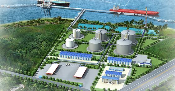 海南中油深南LNG储备库工程